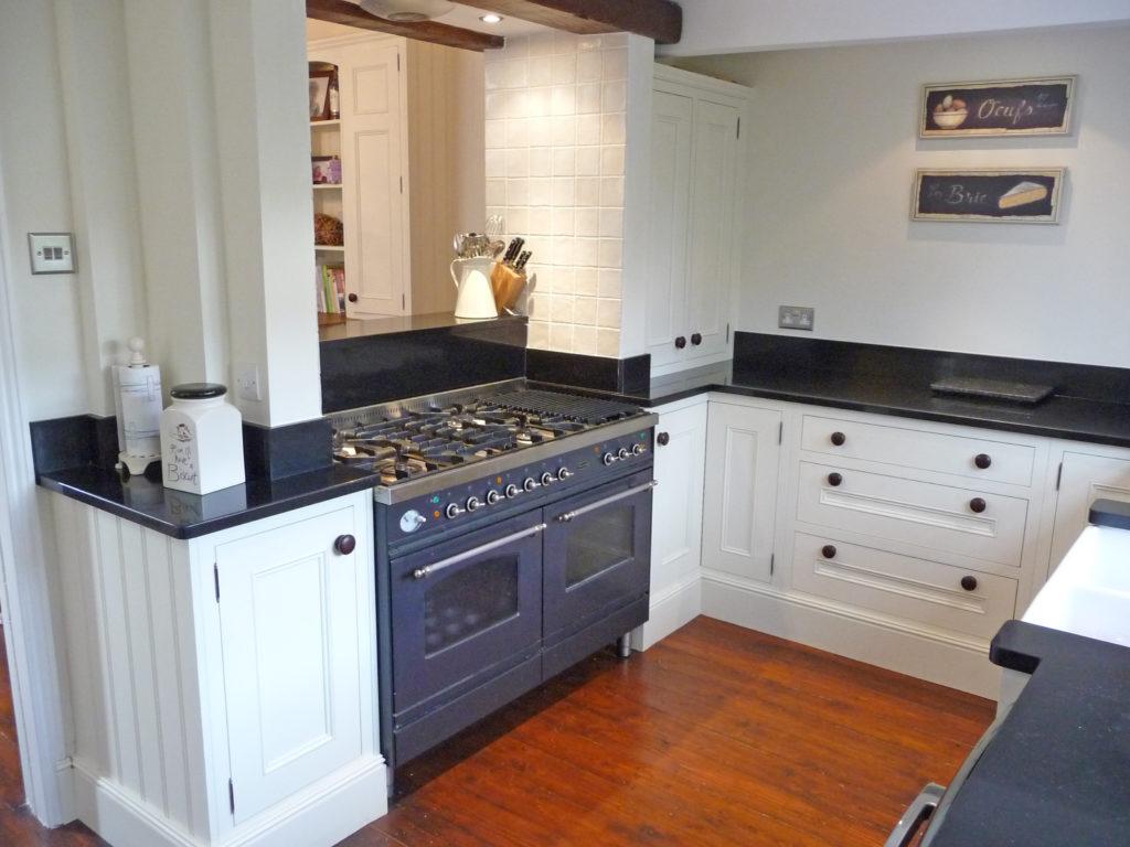 Painted Raised panel kitchen